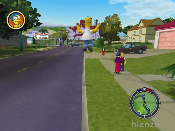 The Simpsons: Hit & Run (2003) screenshot 2
