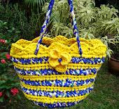 Bolsa Flor Amarela