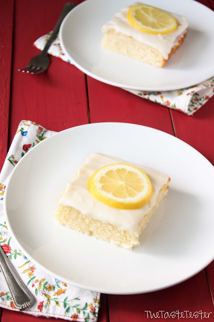 Lemonade Cake | www.the-taste-tester.com