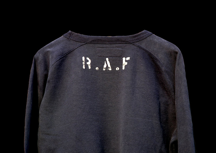 R.A.F NAVY BLUE TRAINING SWEATSHIRT