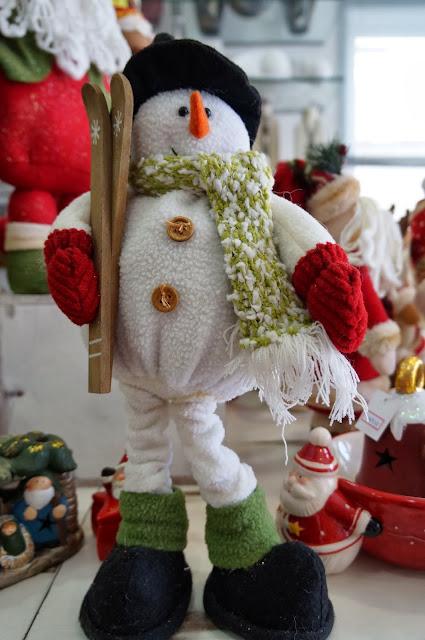 boneco de neve - enfeites de Natal - loja Flor de Malagueta - Santos