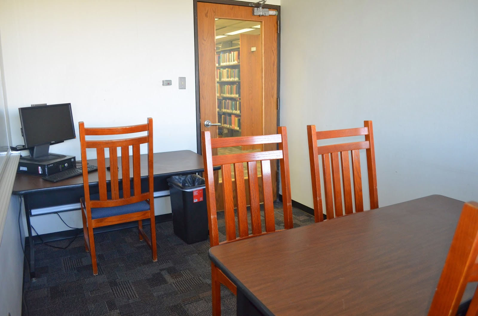 Mcdermott Library Rooms