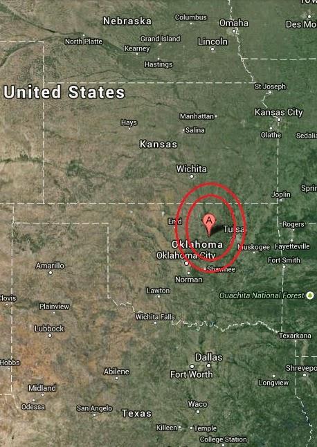 Magnitude 2.8 Earthquake of Yale, Oklahoma 2014-09-16