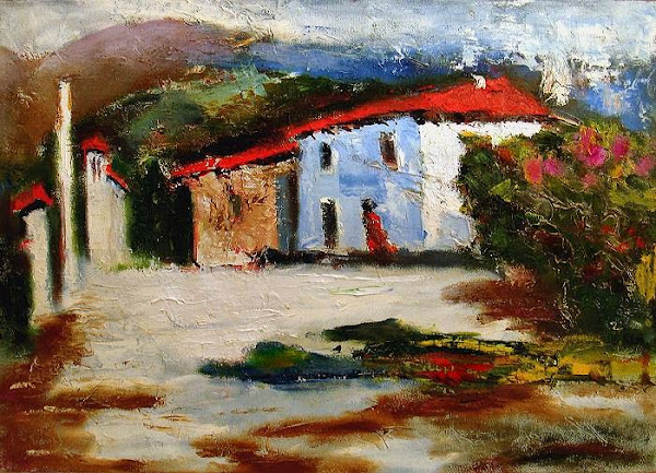 Grigory Zhadko. Artista