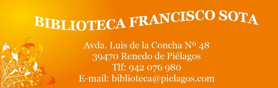 BIBLIOTECA FRANCISCO SOTA