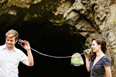 Foto Hari Jadi Pernikahan Bertema Komik
