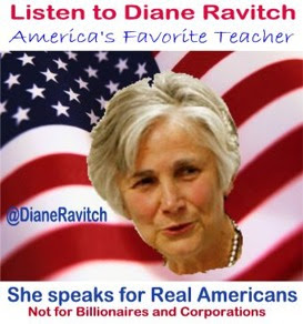 Click on picture to Listen to Diane Ravitch