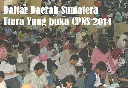 Pendaftaran CPNS Sumatera Utara 2014