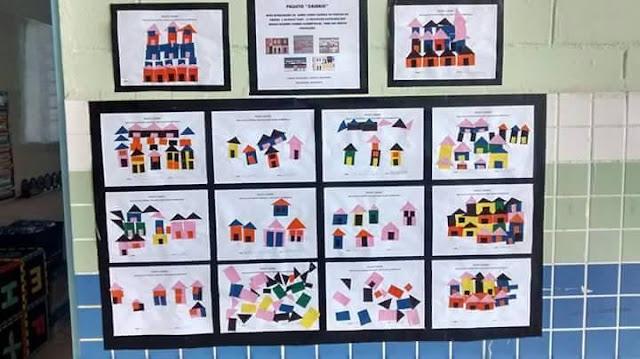 Maquete e Painéis Mostra Cultural Espaço do Educador