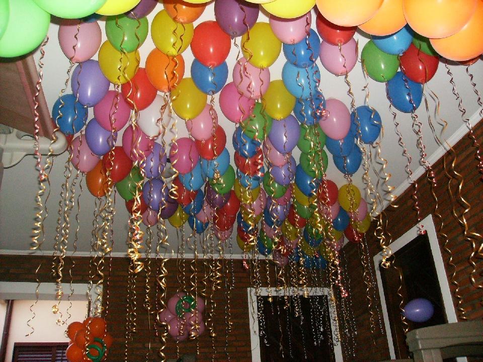 Mega festas balões e cia (19) 3308 8512 DECORA u00c7ÃO DE TETO -> Decoração De Festa Com Balões No Teto