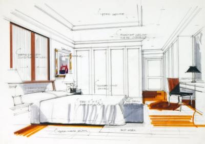 an example of your work as a designer interior design