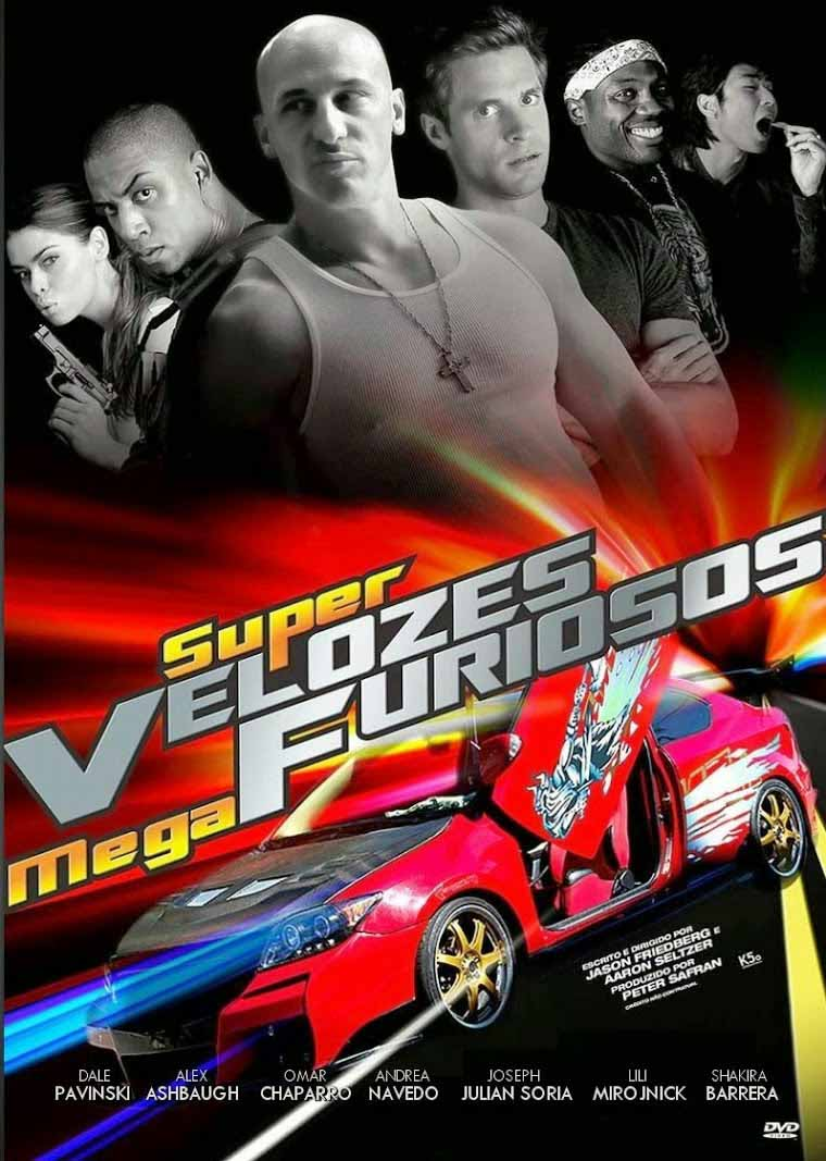 Super Velozes, Mega Furiosos Torrent - BluRay 720p/1080p Dual Áudio