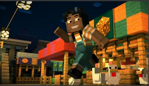 Minecraft Story Mode Apk terbaru