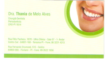 Dra. Thania de Melo Alves