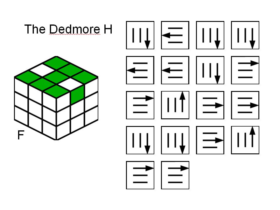 Rubix Cube Dedmore Fish Pattern Solution Exalasis40's Soup Impressive Rubix Cube Pattern