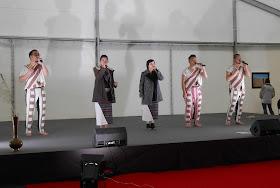 O-Kai singers in rehearsal - Festival Orient, Tallinn - photo credit Hilary Glover