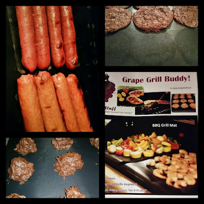 Grape Grill Buddy BBQ and Parchment Paper Substitute Kosher