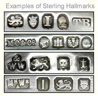 Buy silver silver hallmarks for British jewelry makers marks
