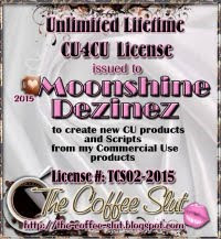 "CU4CU License ""The Coffee Slut"""