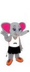 Maskot Sukan Malaysia  XV (Sukma Pahang 2012): Puteh (anak gajah betina)