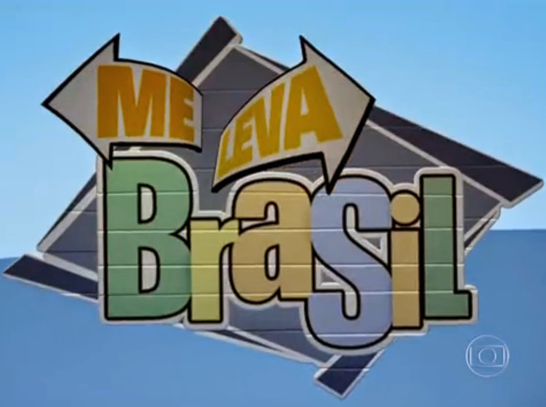 Vinheta do quadro 'Me leva, Brasil' - Fantástico, Rede Globo