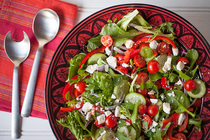 Healthy eating vegetarian plan