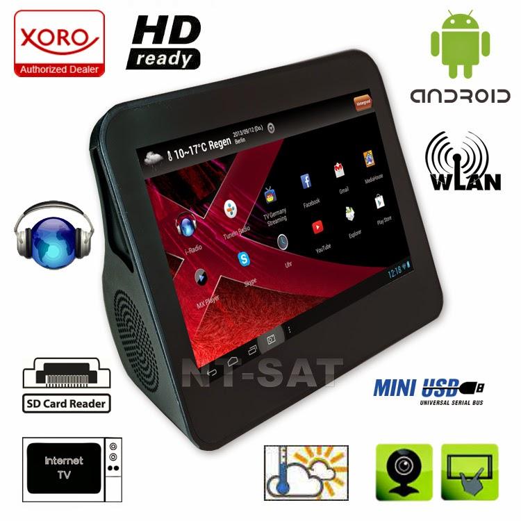 Интернет-радио и медиаплеер XORO HMT 360 с WiFi множеством полезных функций