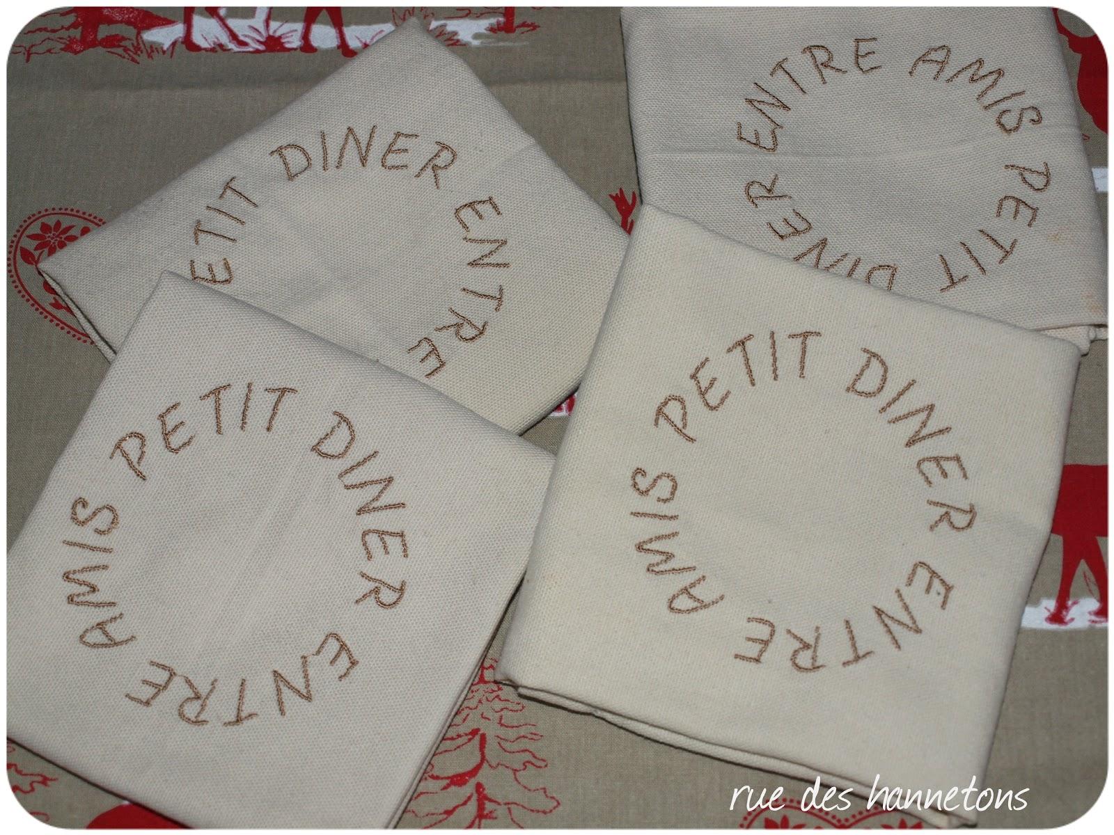 Rue des hannetons esprit de no l for Petit diner entre amis