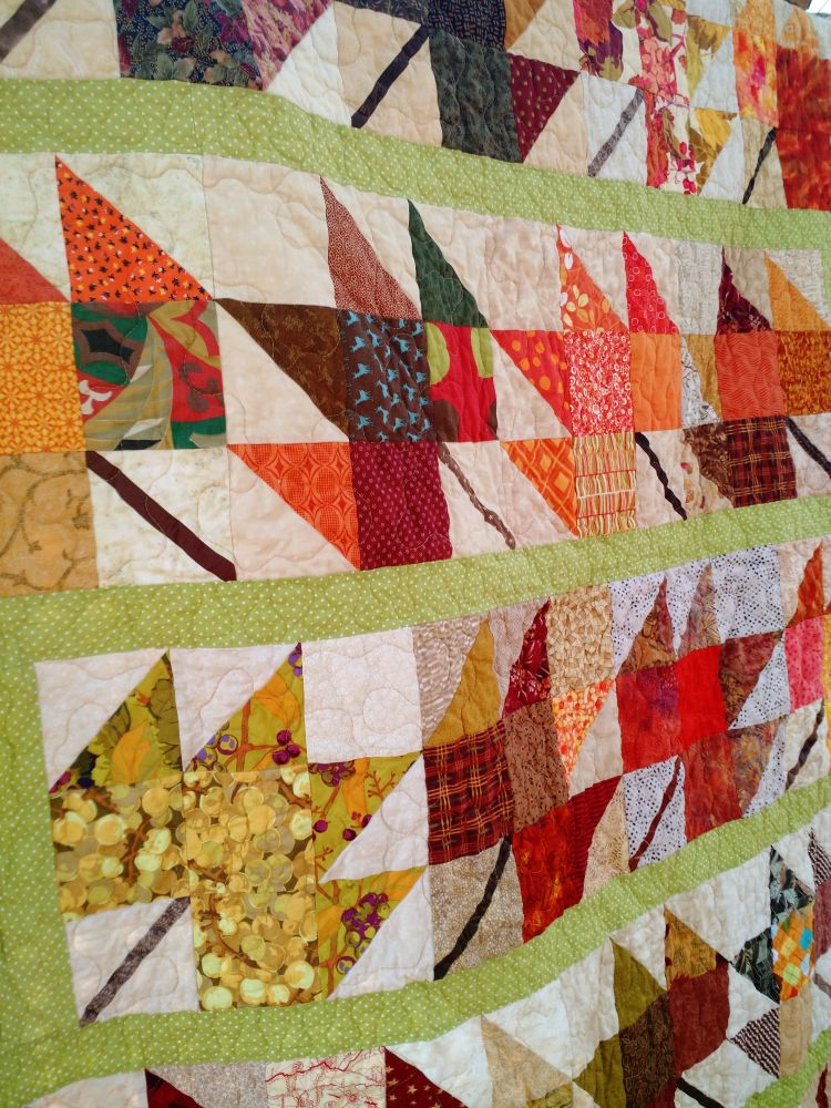 Quilt Patterns With Leaves : Kat & Cat Quilts: More Falling Leaves