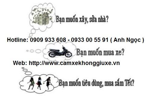 Công ty cầm giấy tờ xe máy HCM Song Hùng