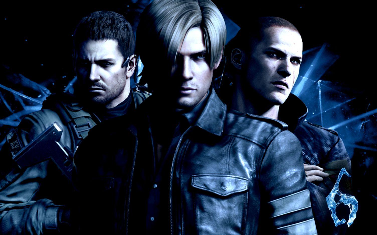 Resident Evil 6 Background Wallpaper