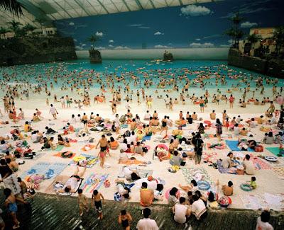 Martin Parr - The Ocean Dome Myazaki 1996