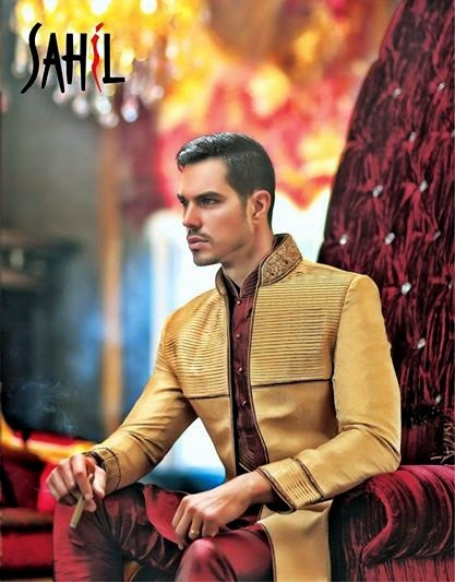 Sahil 2014 Couture Men Collection