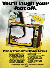 Ad for Monty Python's First LP