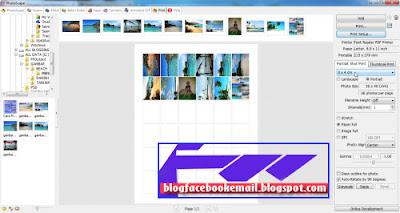 cara edit print foto menggunakan photoscape