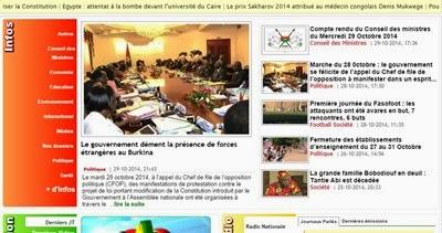 Burkina Faso Gazeteleri
