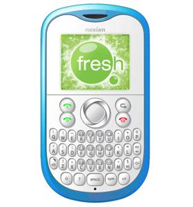 Nexian Fresh Mobile Phone Gallery Handphone
