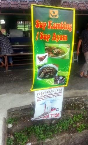 sup kambing dan sup ayam