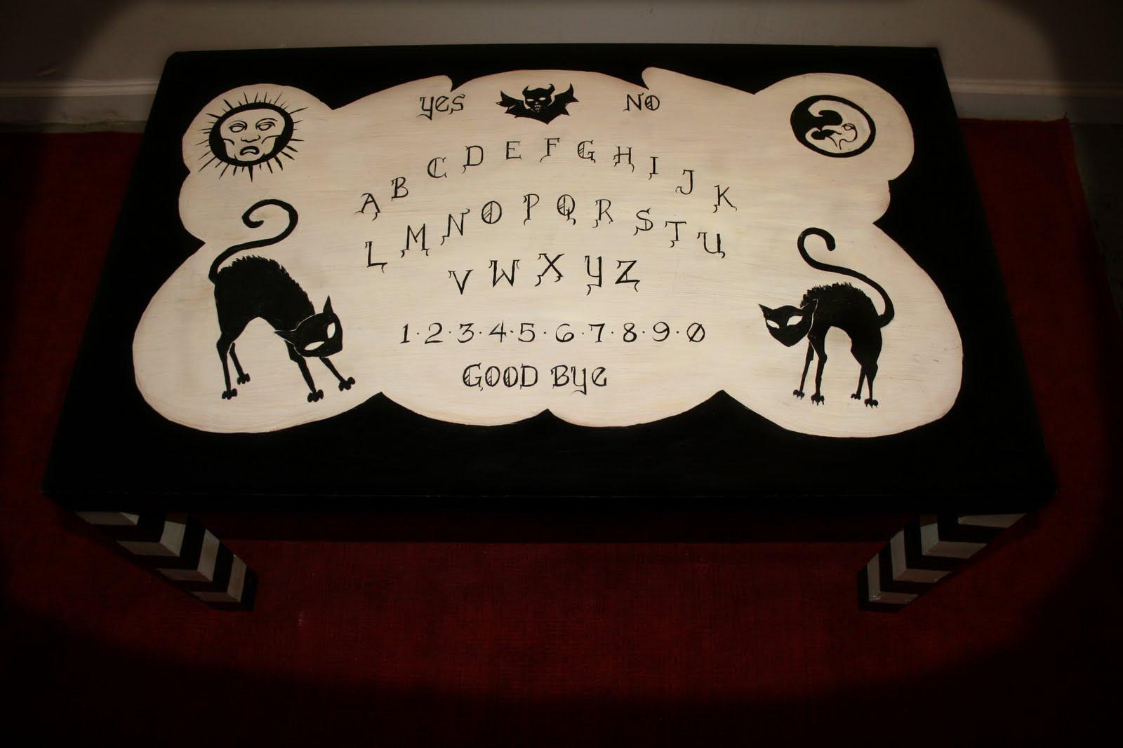 Ouija Board Coffee Table Ghost House Art Design Tattoo Ouija Board Coffee Table