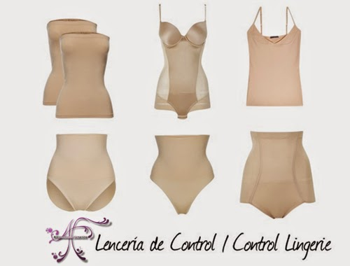 Control lingerie to hide belly
