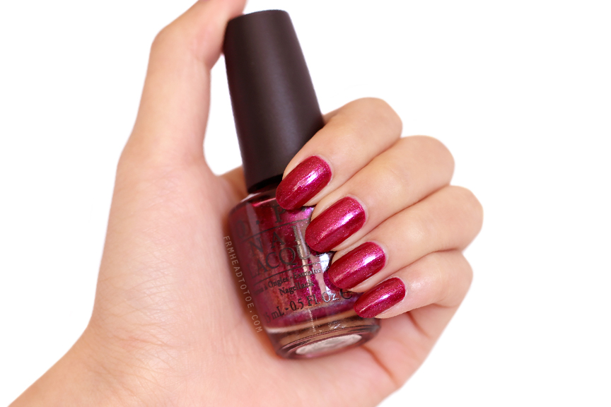 Manicure Monday: OPI The One That Got Away - From Head To Toe