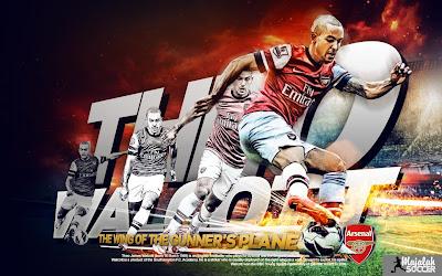 Theo Walcott - Arsenal - Wallpaper Sepakbola Terbaru 2012-2013