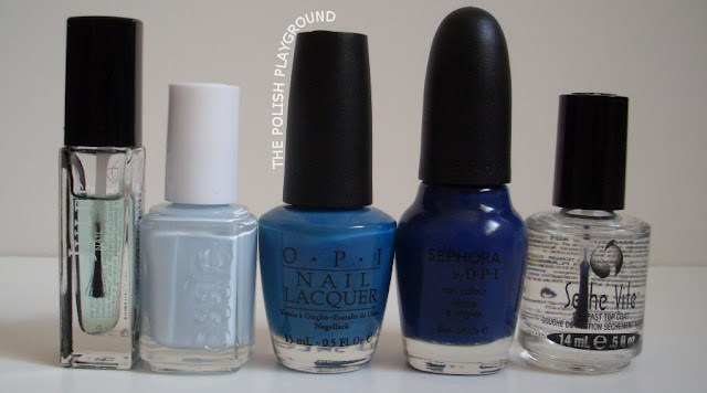 Juelp, Essie, OPI, Sephora by OPI, Seche Vite