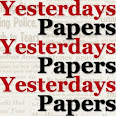 Yesterdays Papers