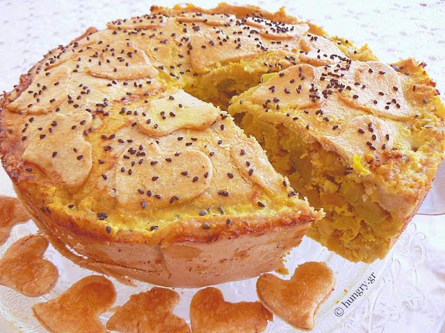 Chicken Pie with Avocado