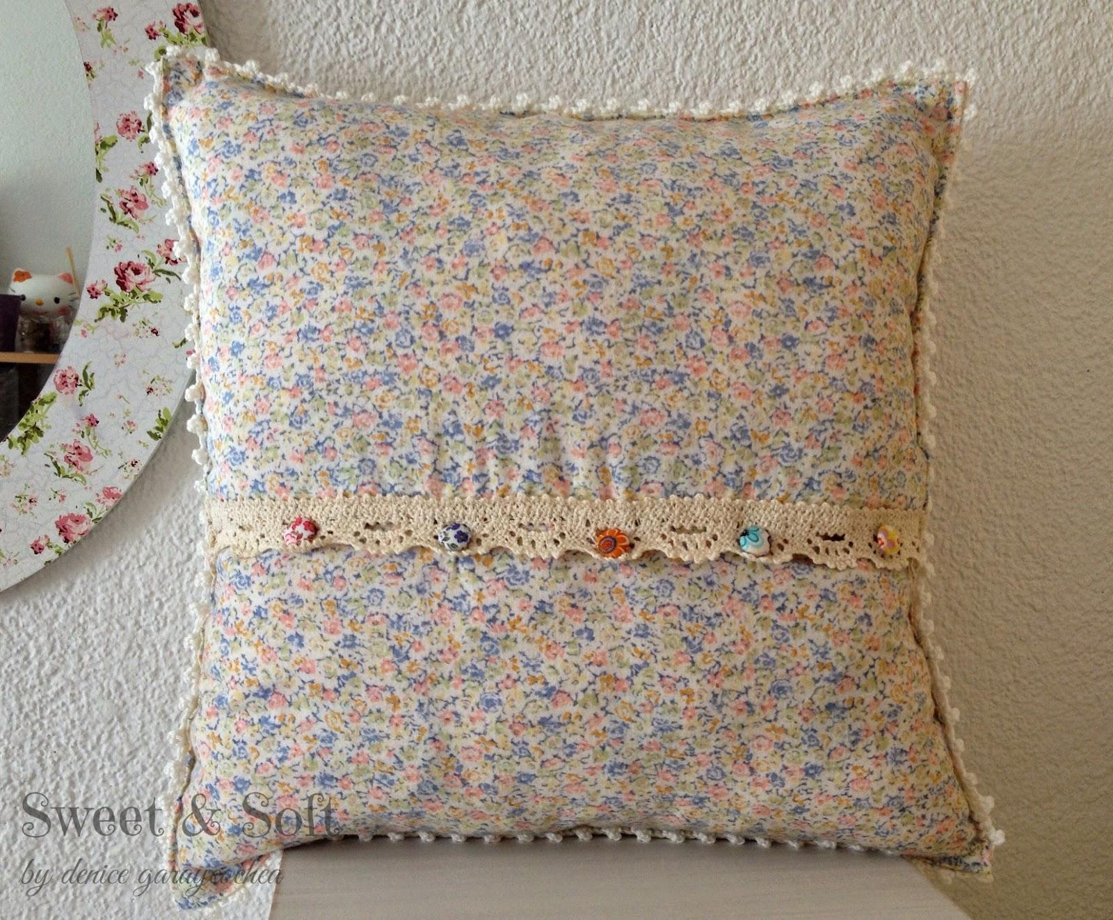 La Magia del Crochet: COJINES CON GRANNYS AL CROCHET