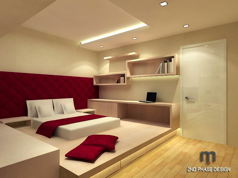 Master Bedroom With Study Section