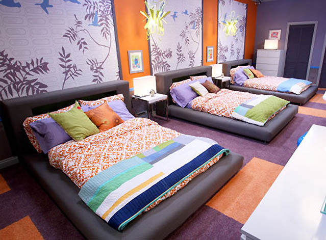 fuschia Interior for Dorm Rooms Decorating Design Ideas