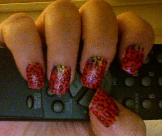 Tiny Plastic Fingernails: Nail Wraps: Sally Hansen Vs