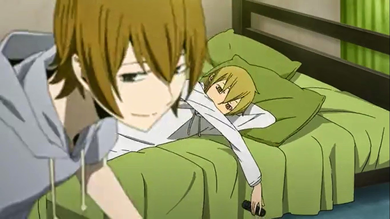 Durarara Masaomi And Saki Saki Left And Masaomi on